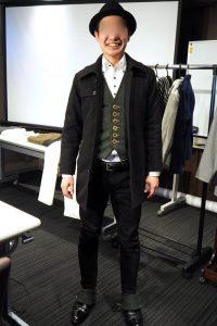 小柄低身長な男性のための小さいXSサイズブランドのシングルトレンチコート
