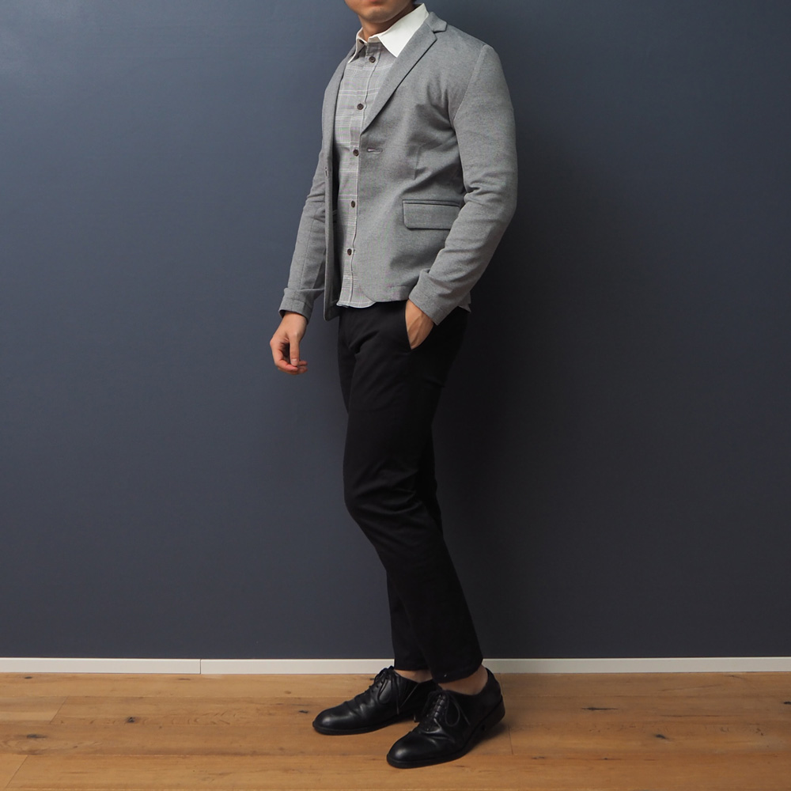 低身長 クレリックシャツ