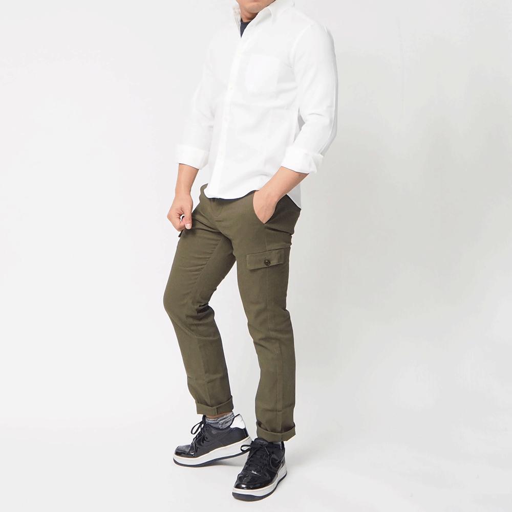 メンズXs 白シャツ