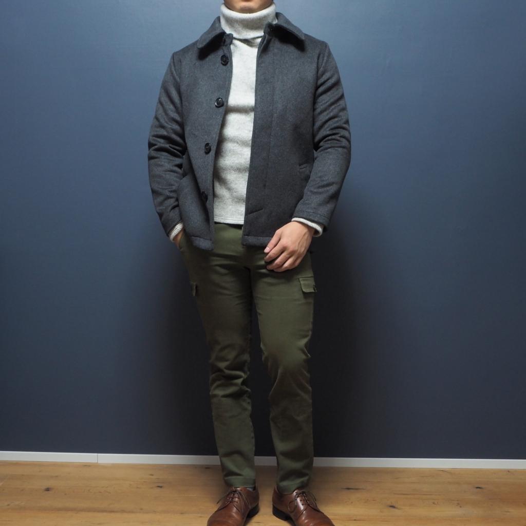 メンズXSサイズ ステンカラーコート