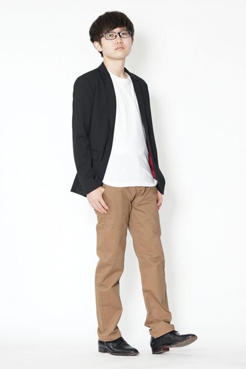 テーラードジャケット 低身長 コーデ