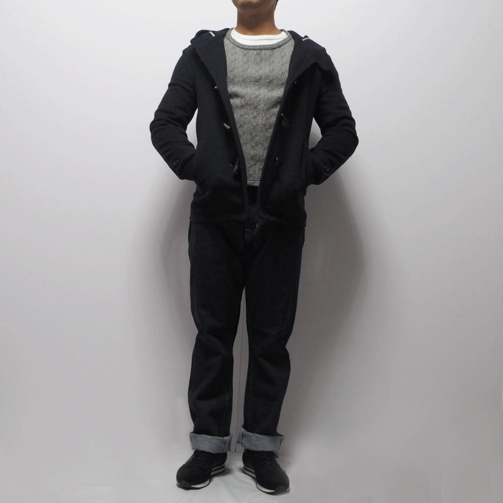 小柄男性向けのダッフルコート 低身長