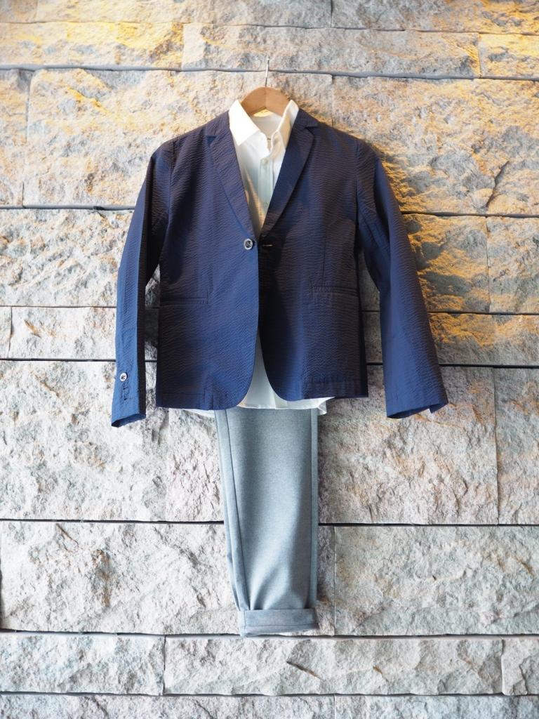 低身長 サマージャケット