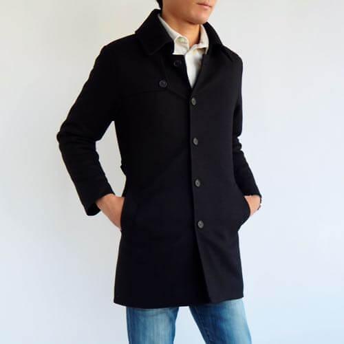 小柄・低身長な男性向けXSサイズのトレンチコート